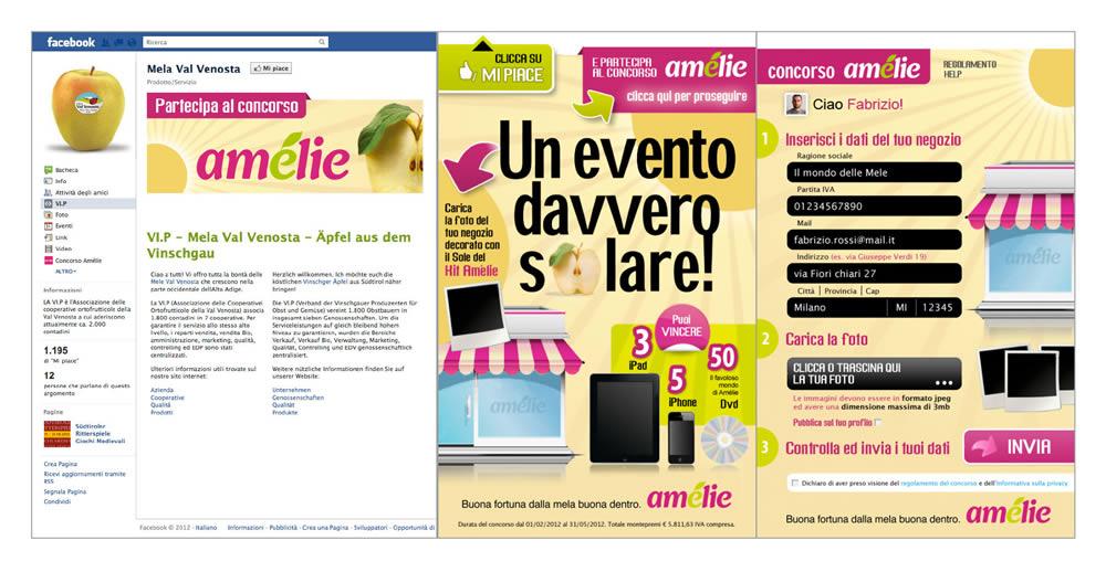 amelie facebook app