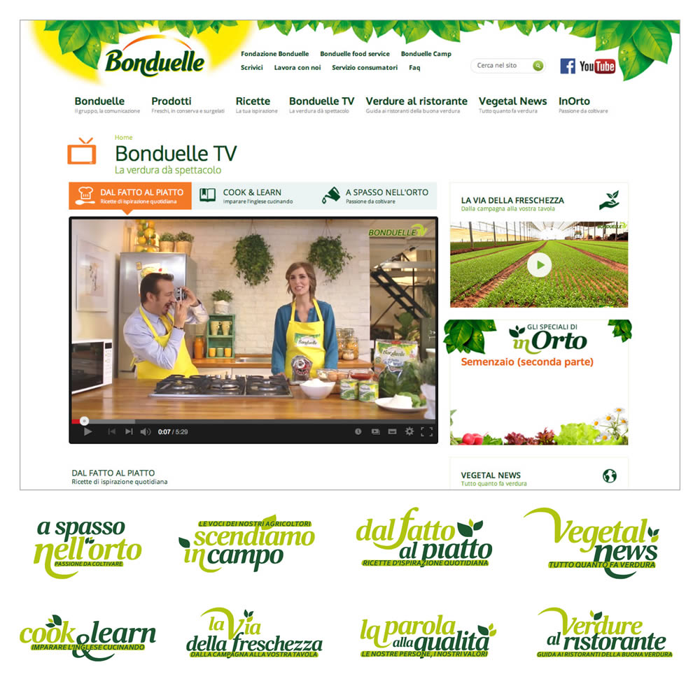 bonduelle website
